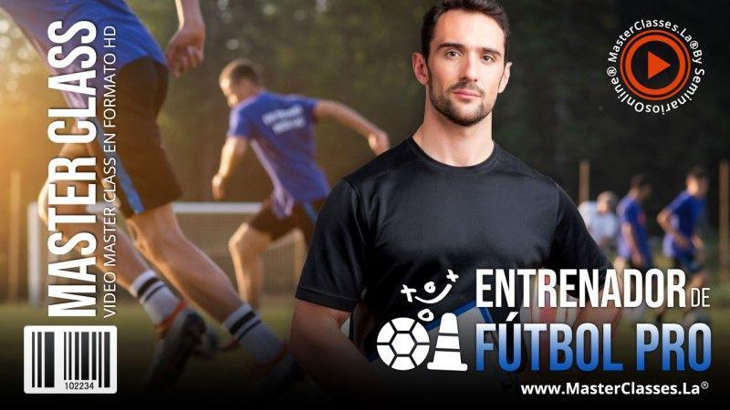 Curso Online para ser entrenador de football pro