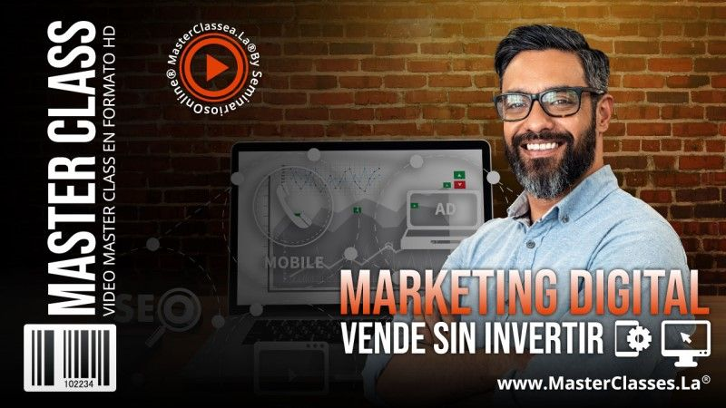 Curso Online de Marketing Digital Vende Sin Invertir