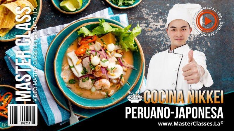 Curso de Cocina Nikkei - Peruano Japonesa
