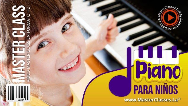 Curso Online de Piano para Niños