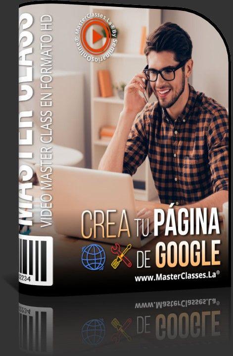 Crea tu Página de Google