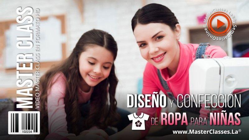 Curso Online de Diseño y Confección de Ropa para Niñas