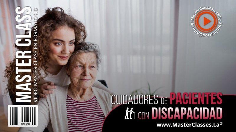 Curso Online para cuidar personas con discapacidad