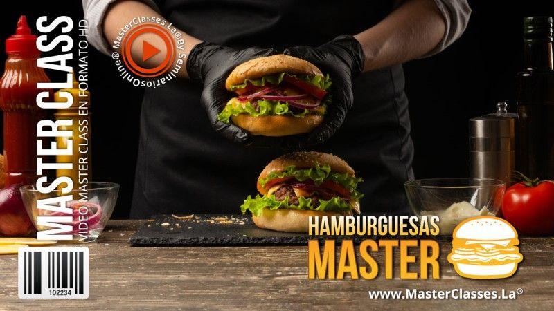 Curso Online Hamburguesas Master