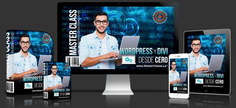 Aprende sobre WordPress y DIvi desde Cero