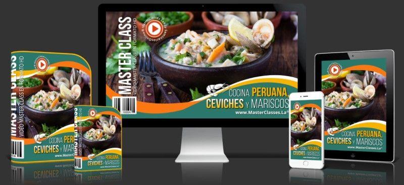 Aprende sobre Cocina Peruana, Ceviches y Mariscos