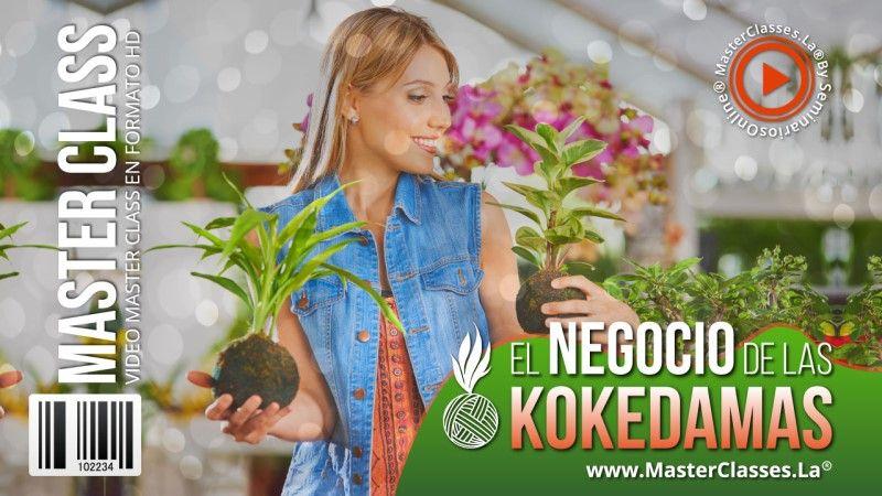 Curso Online de El Negocio de las Kokedamas
