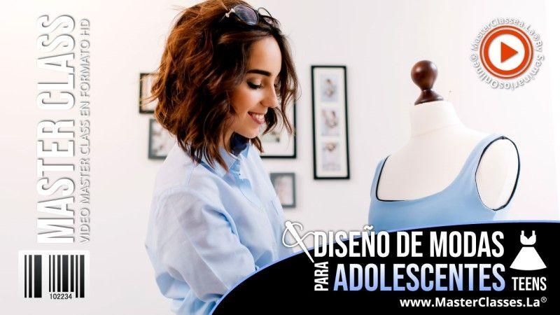 Curso de Diseño de Modas para Adolescentes