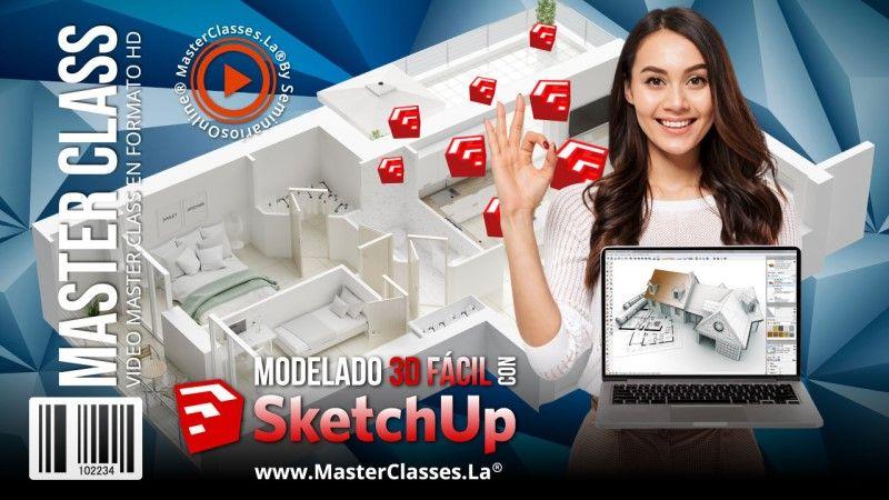 Curso Online de Modelado 3D Fácil con SketchUp