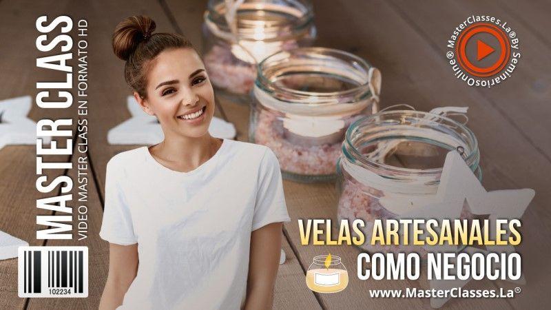 Curso Online de Velas Artesanales como Negocio