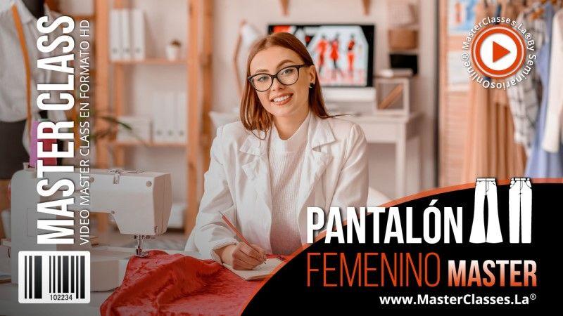 Curso para diseñar pantalones de mujer