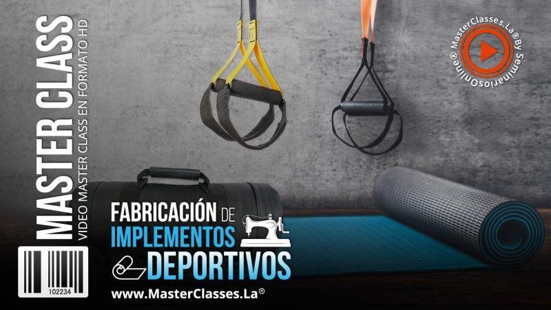 Curso Online de Fabricación de Implementos Deportivos