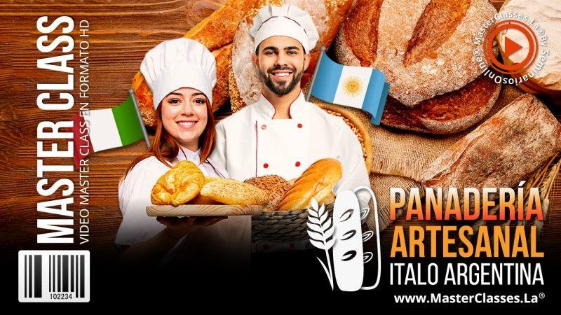 Curso de Panadería Artesanal Ítalo Argentina