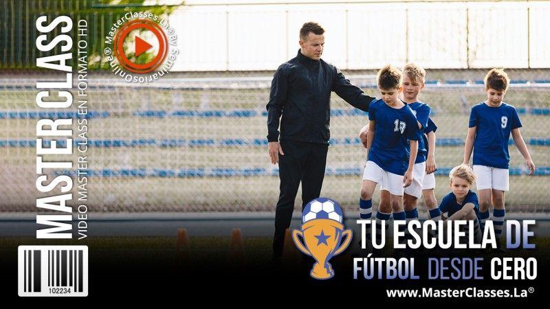 Curso para crear una escuela de football