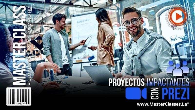 Curso Online de Proyectos Impactantes con Prezi
