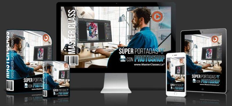 Aprende sobre las Super Portadas con Photoshop