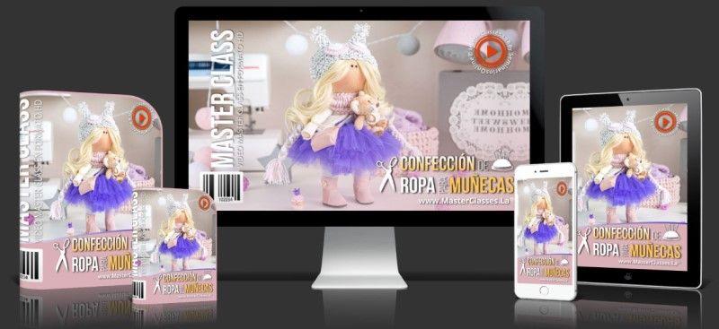 Aprende sobre Confección de Ropa para Muñecas