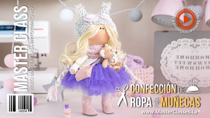 Curso de Confección de Ropa para Muñecas