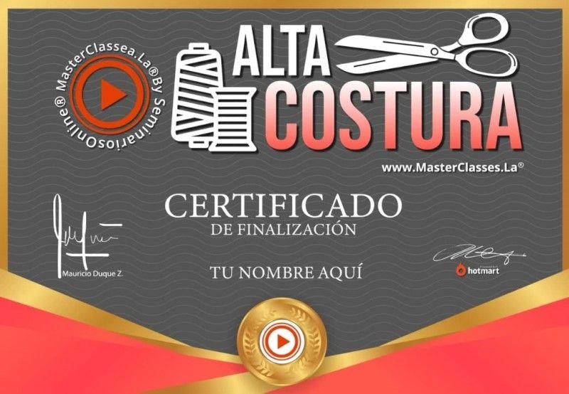 Certificado de Alta Costura