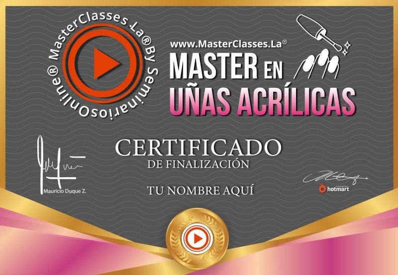 Certificado de Master en Uñas Acrílicas