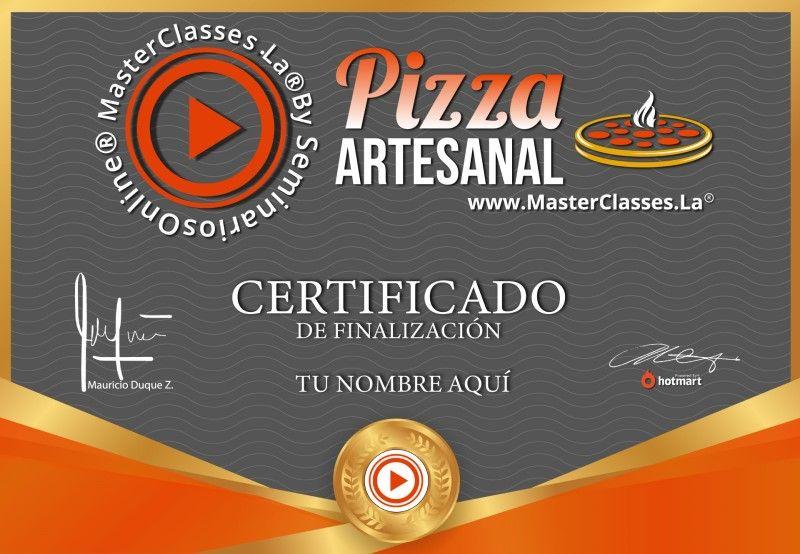Certificado de Pizza Artesanal