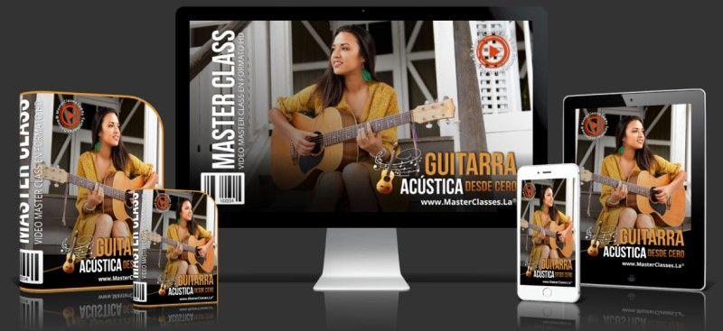 Curso Online de Guitarra Acústica desde Cero