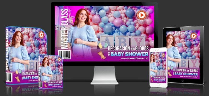 Aprende sobre Decoración con Globos para Baby Shower