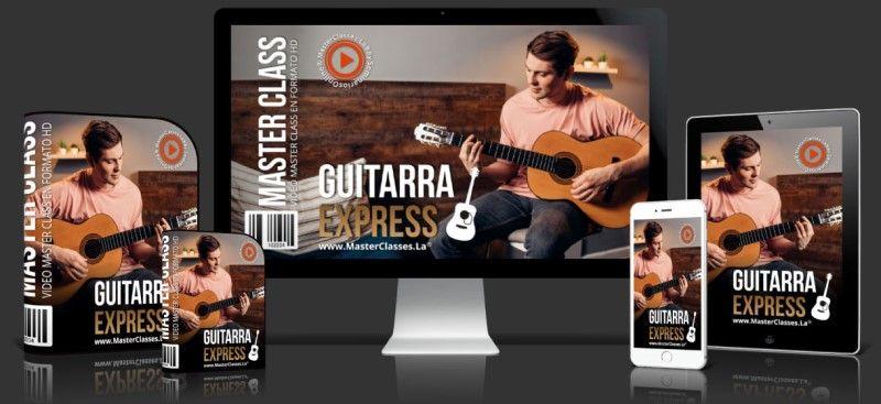 Curso Online Guitarra Express