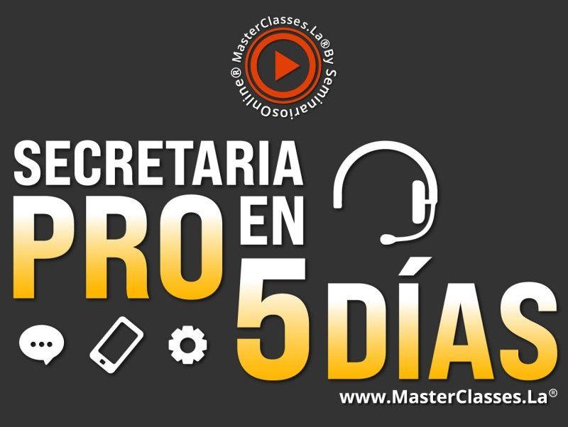 Curso Secretaria Pro en 5 Días