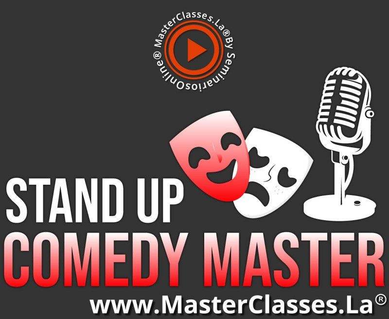 MasterClass Stand Up Comedy Master