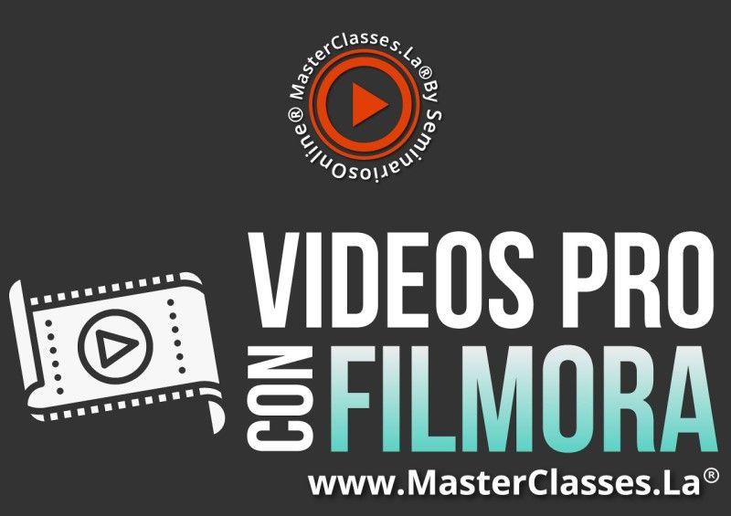 MasterClass Videos Pro con Filmora