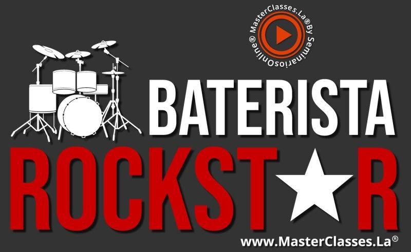 MasterClass Baterista Rockstar