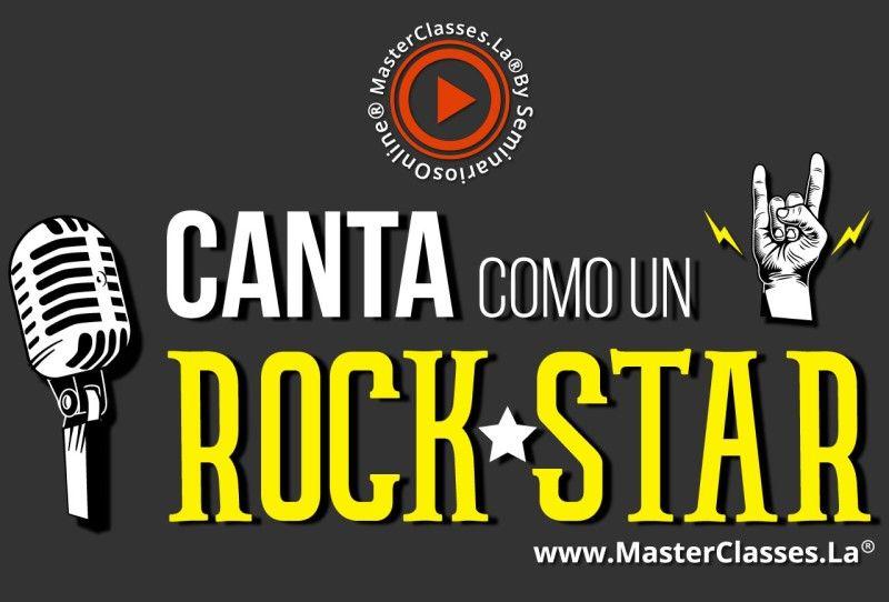 MasterClass Canta Como Un Rockstar