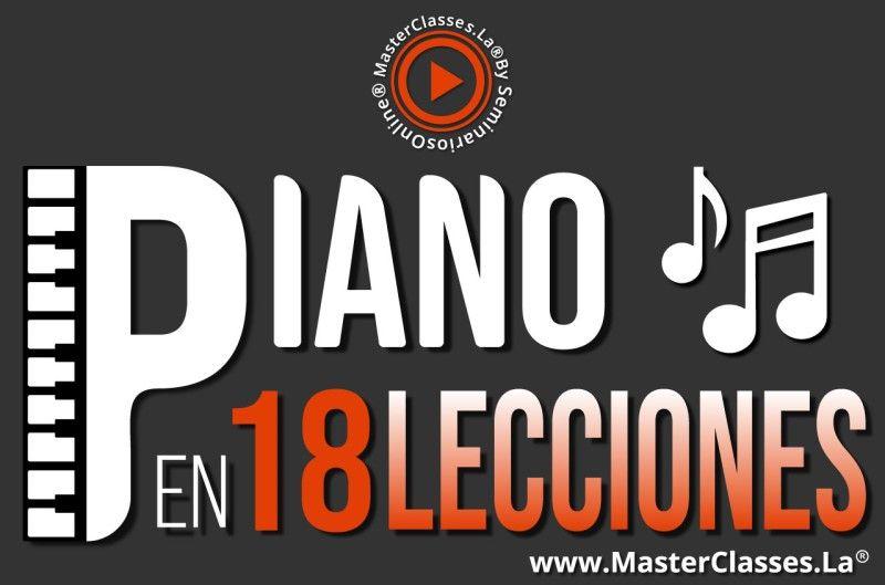 MasterClass Piano en 18 Lecciones