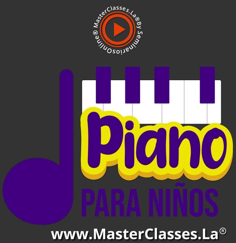 MasterClass Piano para Niños