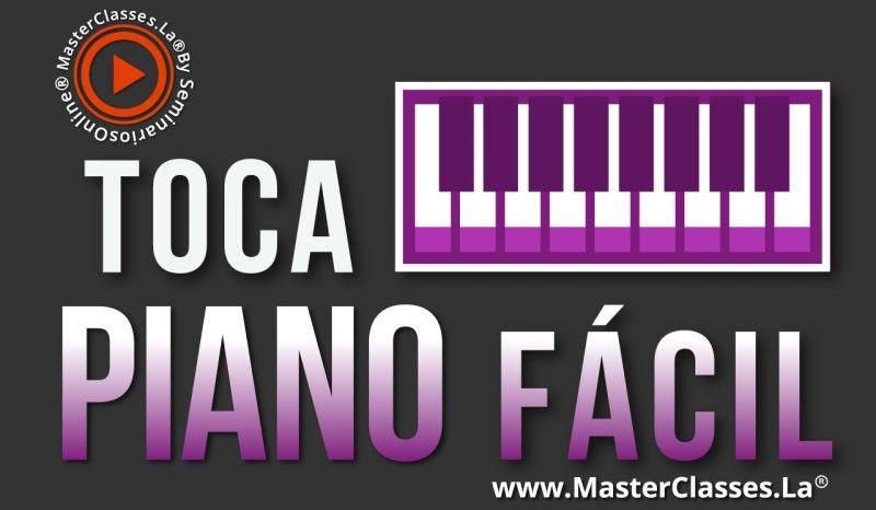 MasterClass Toca Piano Fácil
