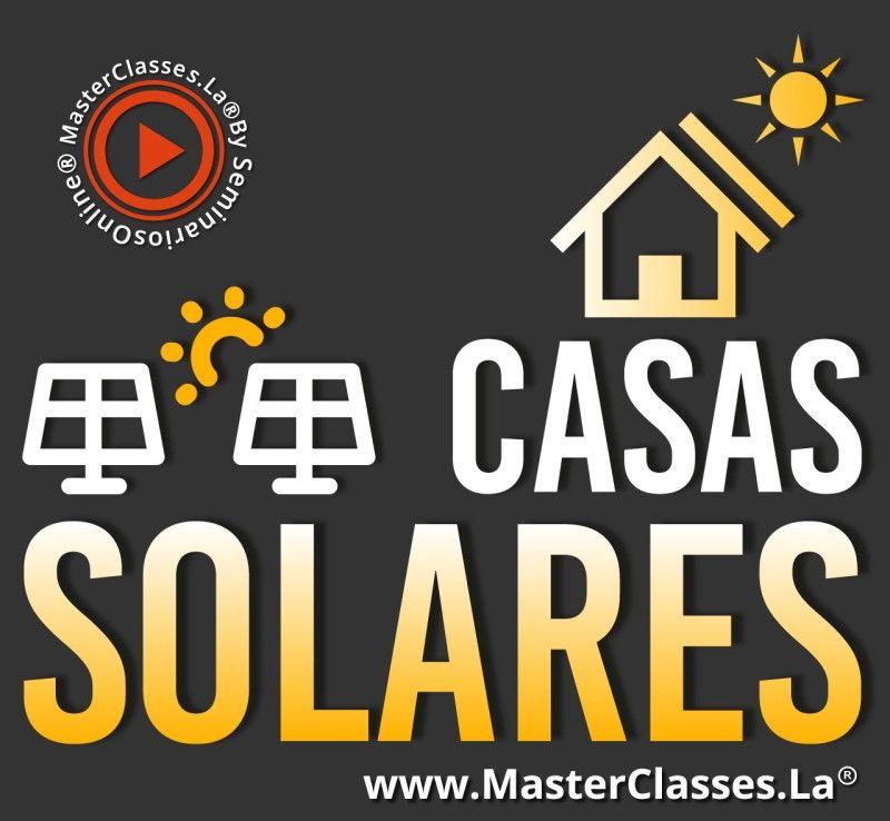 Aprende sobre casas solares