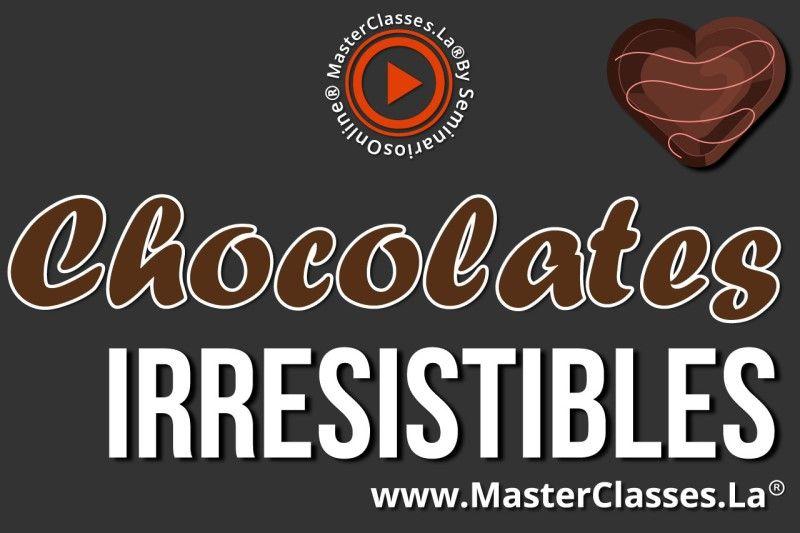 Curso Online de Chocolates Irresistibles
