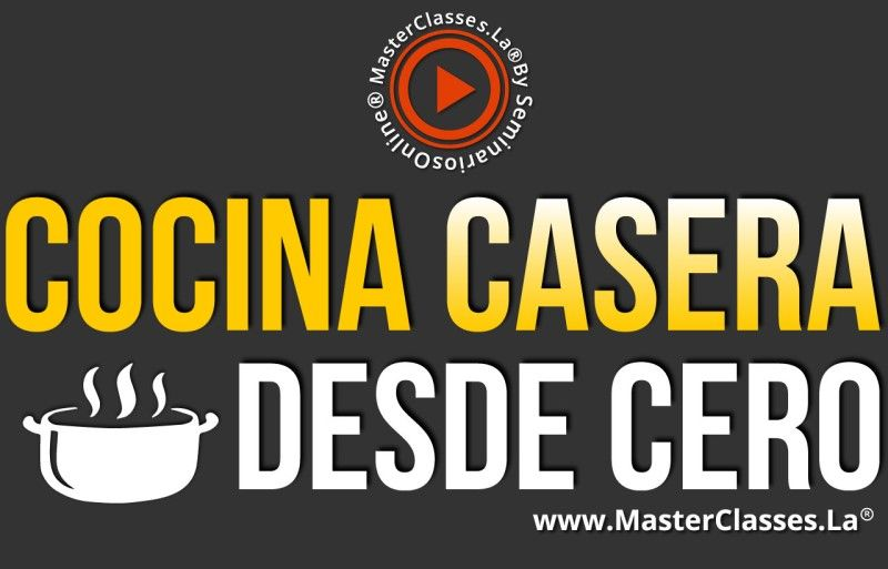 Curso Online de Cocina Casera