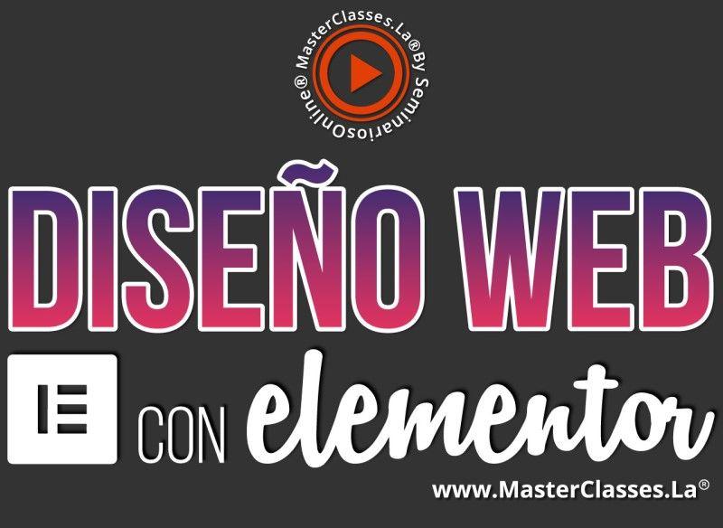 Curso de Diseño Web con Elementor