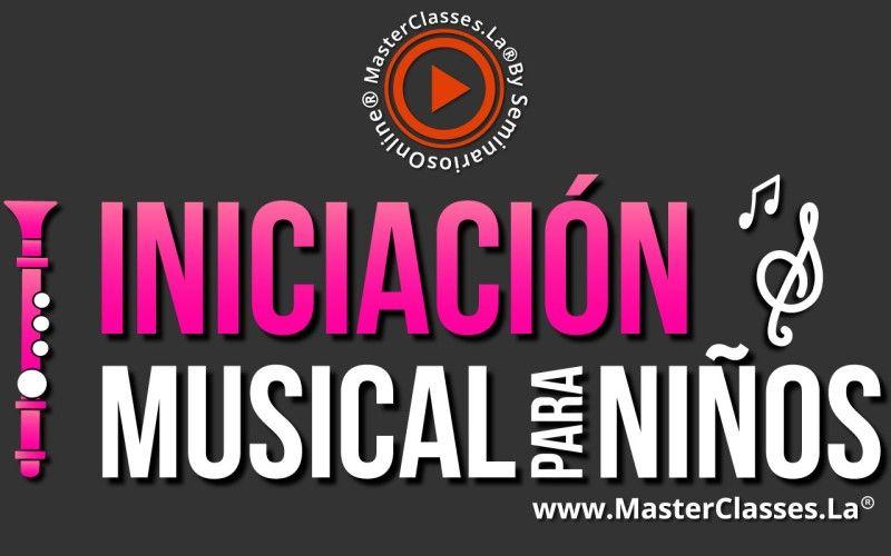 Curso Online de Iniciación Musical para Niños
