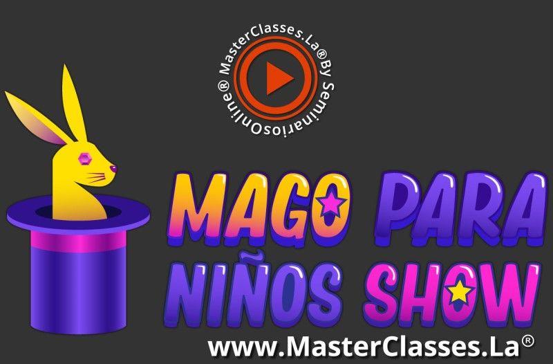MasterClass Mago para Niños Show
