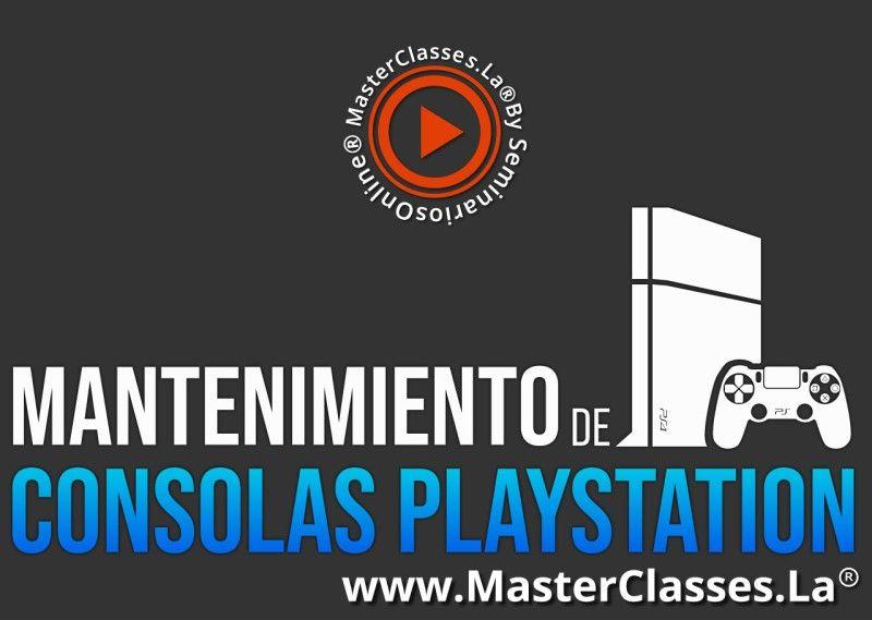 MasterClass Mantenimiento de Consolas PlayStation
