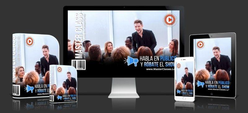 Curso Online Habla en Público y Róbate el Show