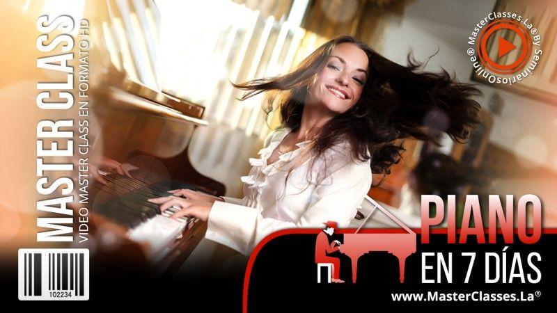 MasterClass Piano en 7 días
