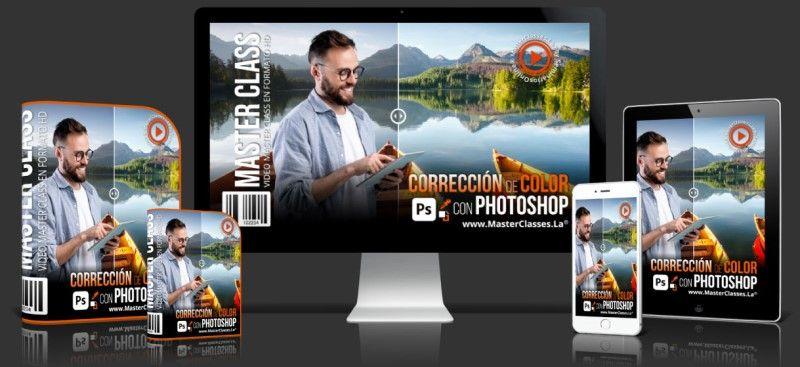 Aprende sobre Corrección de Color con Photoshop