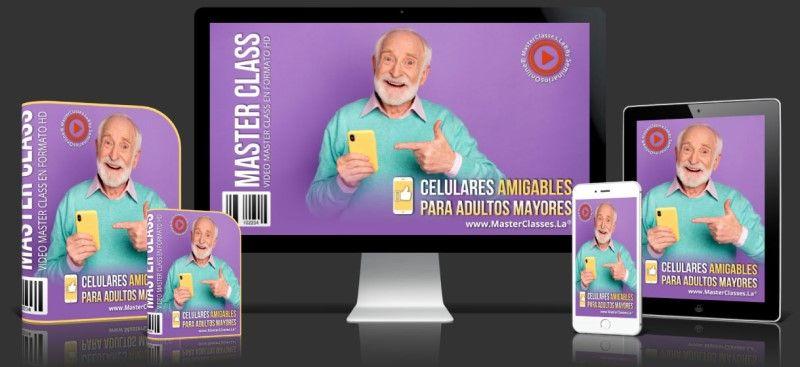 Aprende sobre Celulares Amigables para Adultos Mayores