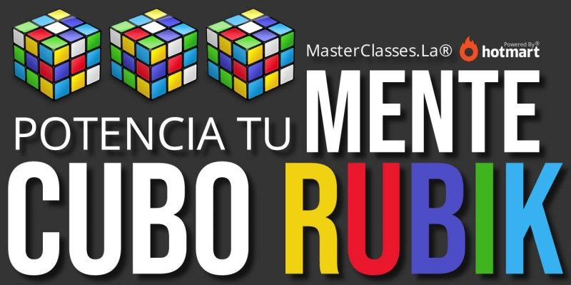 MasterClass Potencia Tu Mente Cubo Rubik
