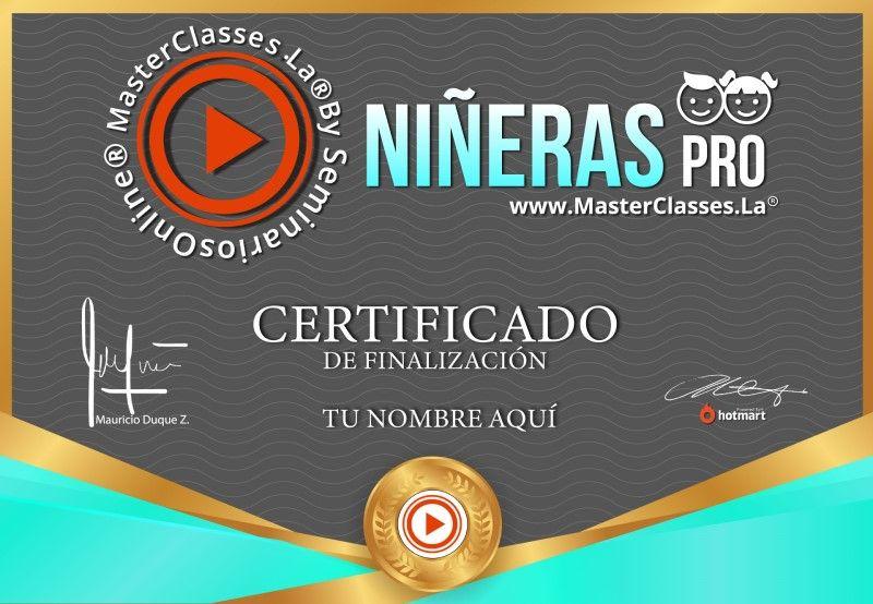 Certificado de Niñeras Pro