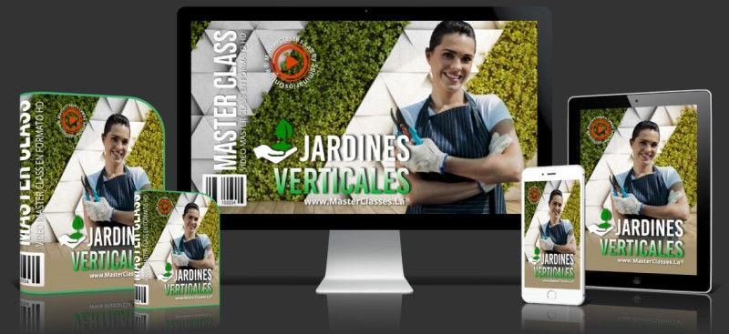 Aprende sobre Jardines Verticales